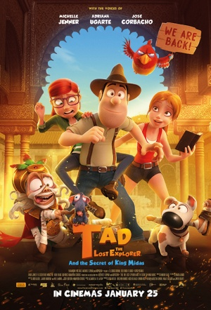 Tad the Lost Explorer and the Secret of King Midas Film Poster