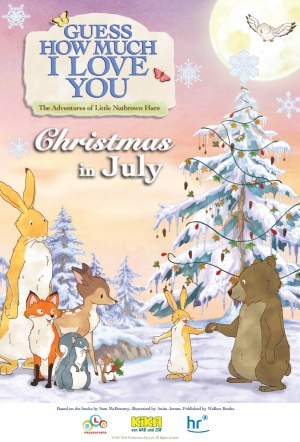 Guess How Much I Love You: Christmas in July Film Poster