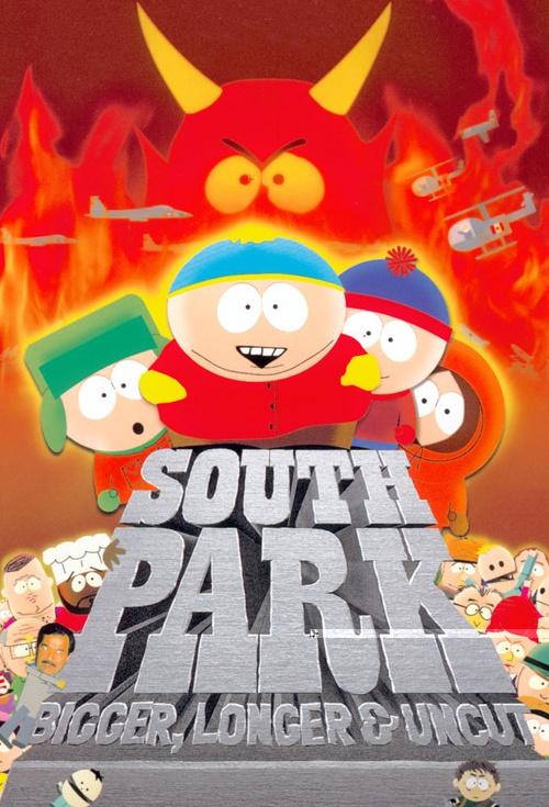 South Park: Bigger, Longer & Uncut/Soundtrack - South Park Archives - Cartman, Stan, Kenny, Kyle