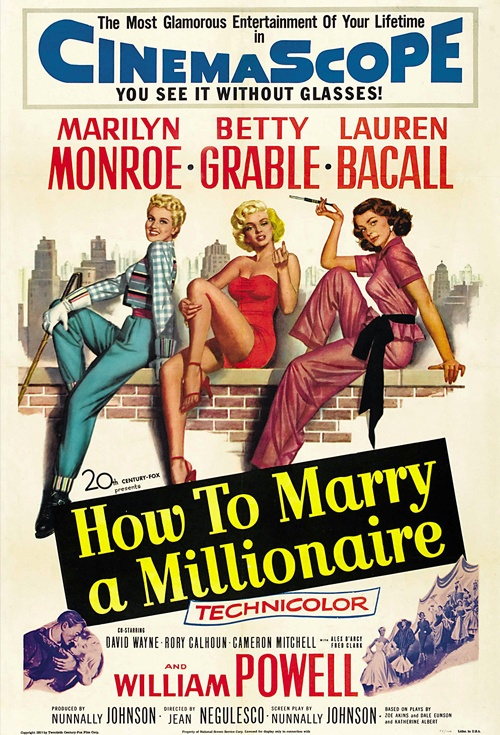 How to Marry a Millionaire Film Poster