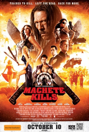 Machete Kills Film Poster