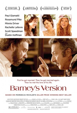 Barney's Version Film Poster