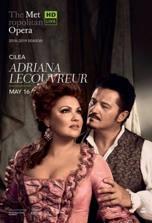 MetOpera: Adriana Lecouvreur Film Poster