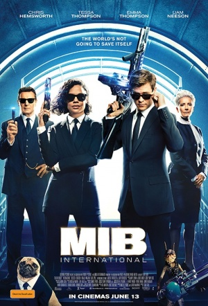 Men in Black 3D: International Film Poster