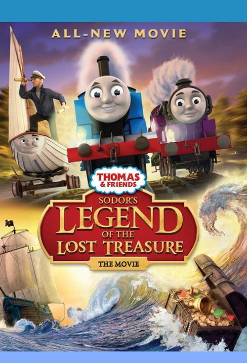 Thomas Friends Sodors Legend Of The Lost Treasure Movie Poster