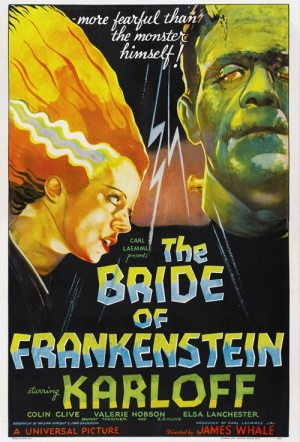 Bride of Frankenstein Film Poster