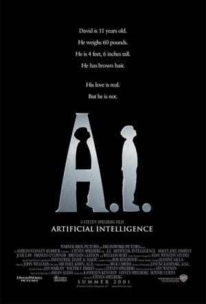 A.I. Artificial Intelligence Film Poster