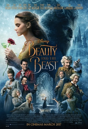 Beauty and the Beast 3D (2017) Film Poster