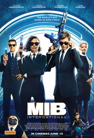 Men in Black: International Film Poster