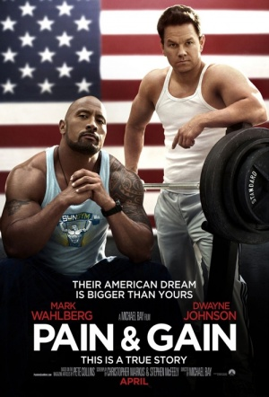 Pain & Gain Film Poster