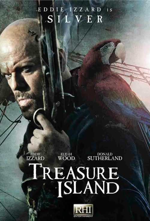 Treasure Island Film Poster