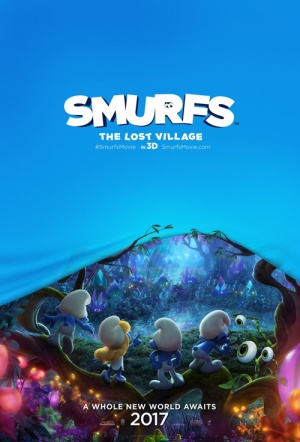 Smurfs: The Lost Village 3D Film Poster