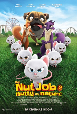 The Nut Job 2 3D: Nutty by Nature Film Poster