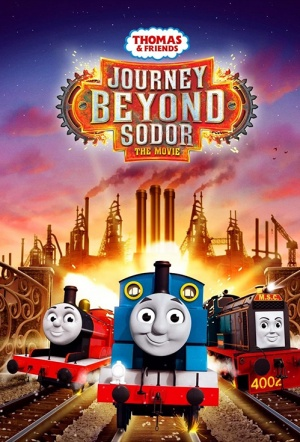 Thomas & Friends: Journey Beyond Sodor Film Poster