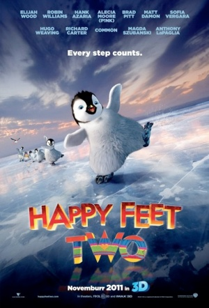 Happy Feet Two 3D Film Poster