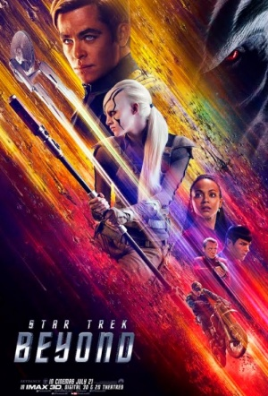Star Trek Beyond 3D Film Poster