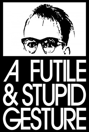 A Futile and Stupid Gesture Film Poster