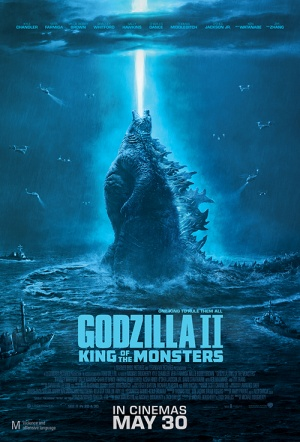 Godzilla II 3D: King of the Monsters Film Poster
