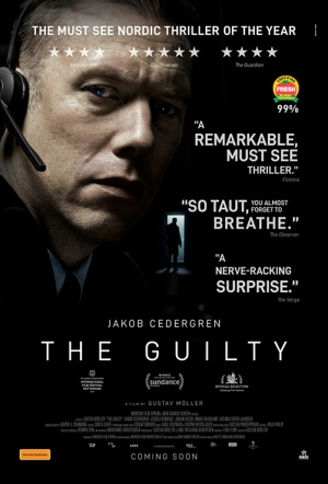 The Guilty (Den Skyldige) Film Poster