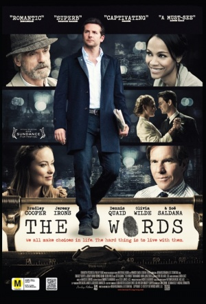 The Words Film Poster
