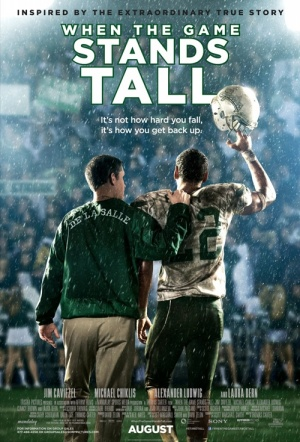 When the Game Stands Tall Film Poster
