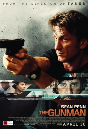 The Gunman Film Poster