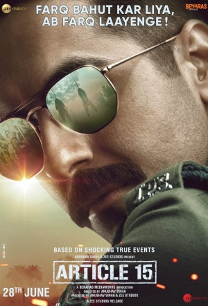 Article 15 Film Poster
