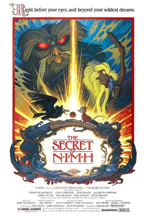 The Secret of NIMH Film Poster