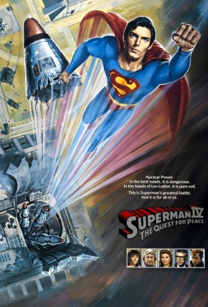 Superman IV: The Quest for Peace Film Poster