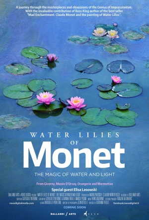 Water Lilies of Monet: the Magic of Water and Light Film Poster