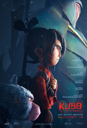 Kubo and the Two Strings 3D Film Poster