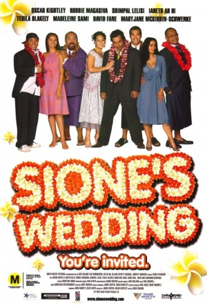 Sione's Wedding Film Poster