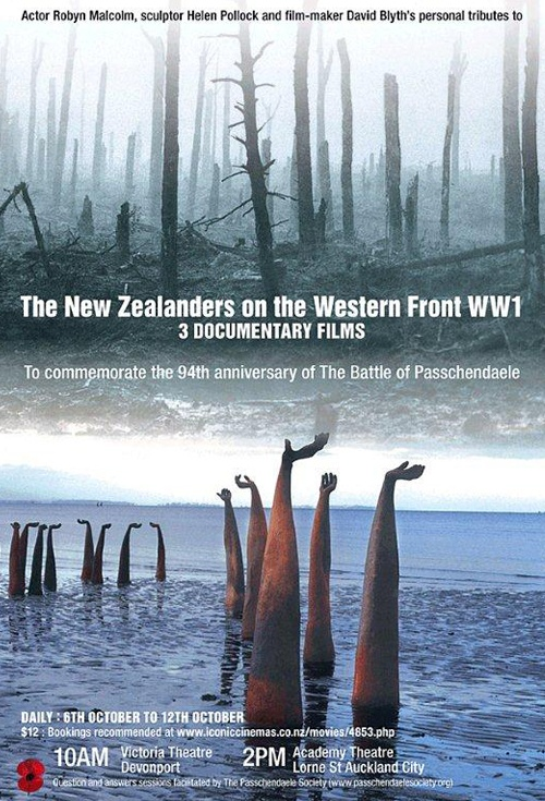 The New Zealanders on the Western Front Film Poster