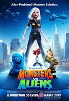 Monsters vs. Aliens Film Poster