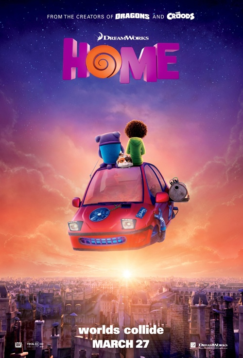 Home 3D Film Poster