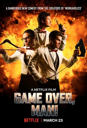 Game Over, Man! Film Poster