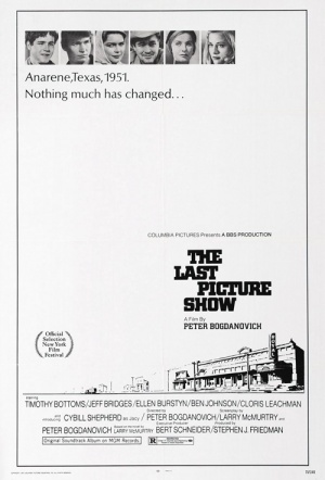 The Last Picture Show Film Poster