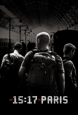 The 15:17 to Paris Film Poster