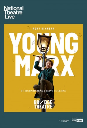 NT Live: Young Marx Film Poster