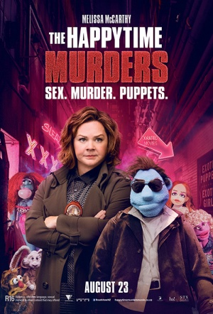 The Happytime Murders Film Poster