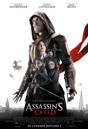 Assassin's Creed 3D Film Poster