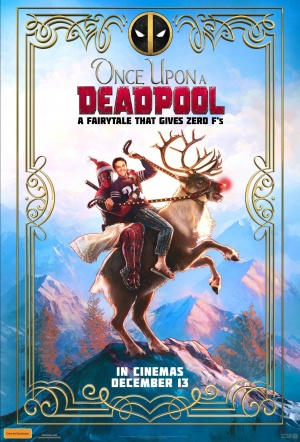 Once Upon A Deadpool Film Poster