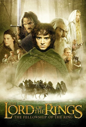 The Lord of the Rings: The Fellowship of the Ring Film Poster