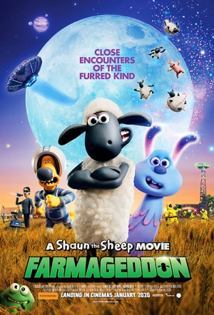 Shaun the Sheep Movie: Farmageddon Film Poster