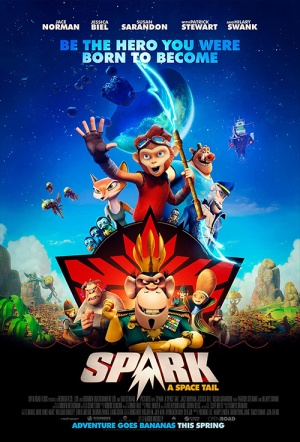 Spark: A Space Tail Film Poster