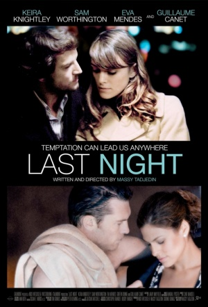 Last Night (2010) Film Poster
