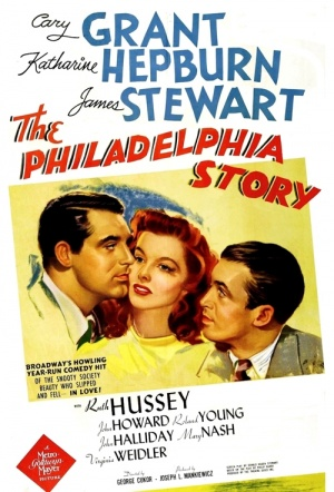 The Philadelphia Story Film Poster