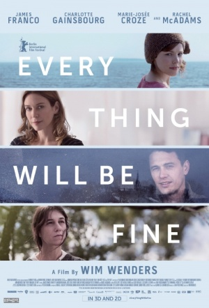 Every Thing Will Be Fine 3D Film Poster