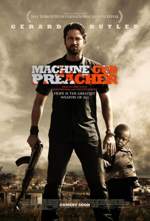 Machine Gun Preacher Film Poster