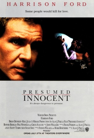 Presumed Innocent Film Poster